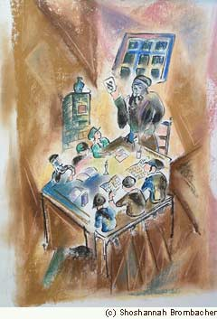 ''Cheder'' by chassidic artist Shoshannah Brombacher