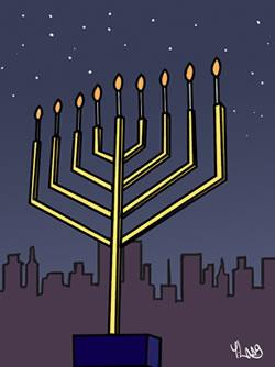 How to light the menorah light up your environment chanukah public menorahs m4hsunfo