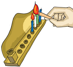 Arrange The Lights On The Menorah. Ensure That There Is Enough Oil, Or That  The Candles Are Big Enough, For The Lights To Burn Until Half An Hour After  ...