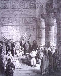 """Joseph Interpreting Pharaoh's Dreams"" by Gustave Dore"