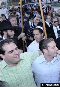 Rejoicing with the new Torah