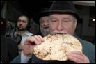 Polish Leader's VIP Tour Stops by Matzah Factory in Kfar Chabad