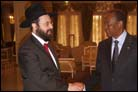 Rabbi Makes the Rounds of African Heads of State
