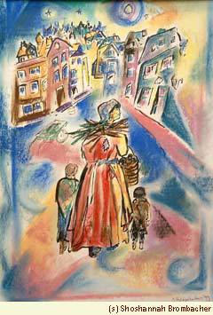 """""""Poverty"""" by chassidic artist Shoshannah Brombacher"""