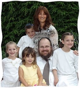 Sara Esther with her family