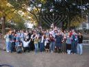 Menorah lighting UT Austin Chabad Honoring Texas Hillel