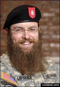Rabbi Zalman Lipskier, the first Jewish chaplain in Georgia military history