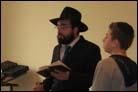 Ukrainian Boy Follows Circumcision With His Bar Mitzvah