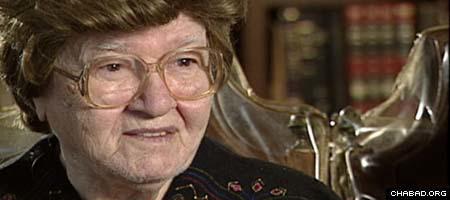 Chana Schapiro, who passed away at the age of 94 (Photo: Jewish Educational Media)