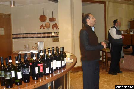 Alex Haruni, owner of Israel's Dalton Winery, talks about his boutique operation's presence in the kosher export market. Haruni spoke at a kosher wine tasting at the Culinary Institute of America sponsored by the school's Jewish Culture Club and Chabad-Lubavitch of Dutchess County, N.Y. Marty Siegmeister of Allied Importers also spoke.
