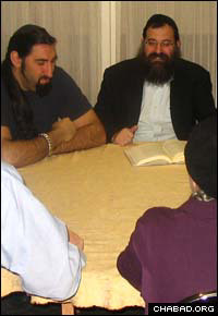 Chabad Project Pride-Centre Lifeline focuses on providing spirituality to recovering addicts.