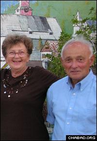 Marlena and Liviu Librescu met in 1965.