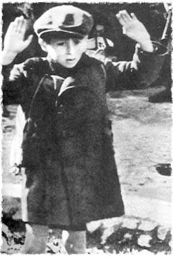 כבר סבלנו די והותר. ילד יהודי בשואה