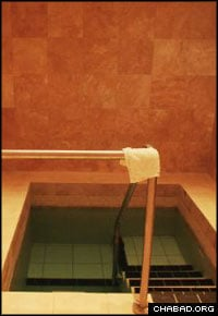 The Slager Family Mikvah in Oxford cost some $500,000 to build. A team of local women supervised the project.