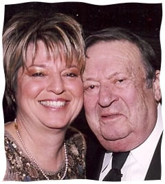 Rhonda with her father