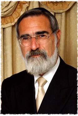 Le grand-rabbin Lord Jonathan Sacks