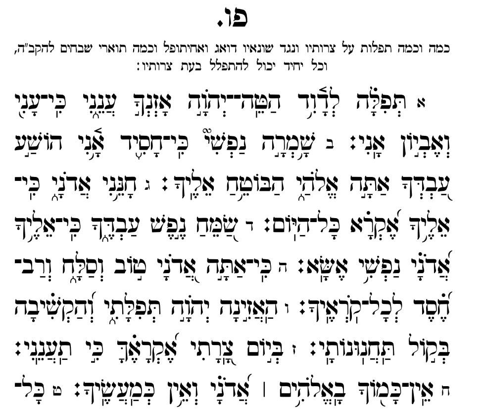 Chapter 86 - Prayer