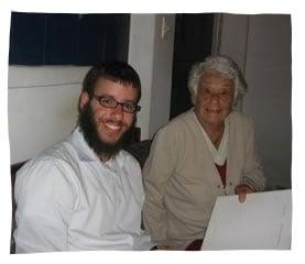 Moshe Loebenstein and Agatha