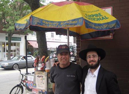 Kosher hot dog guy