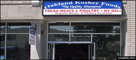 A fire at the Oakland Kosher Market in California has left the area's Jewish community searching for other ways to stock its kitchens.