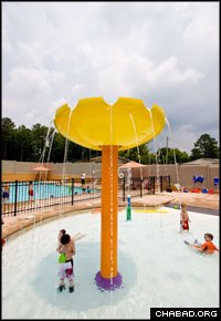 With two new pools, Chabad-Lubavitch of Alpharetta is a young family's paradise.