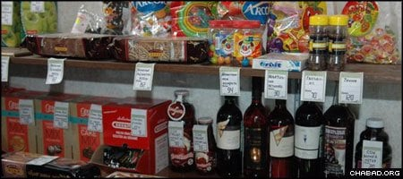 The new kosher store in Nizhny Novgorod, Russia, carries a line a products from locations throughout the former Soviet Union and Israel.