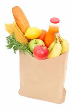 Les sacs de courses - Qu'elle a abandonnés au Rabbi - Le Rabbi