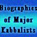 Biographies of Major Kabbalists