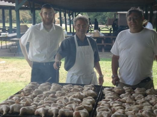 We served 300 kosher meals at this BBQ!