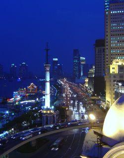Shanghai is a modern city…