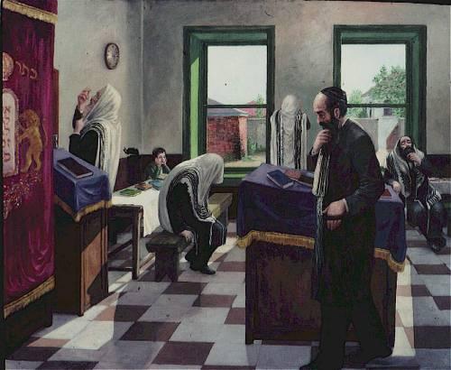 Kleinman davening