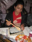 Women's Soups & Sushi in the Sukkah