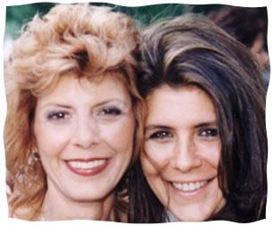 Melody Masha with her mother, Vivian Hinda Rosen