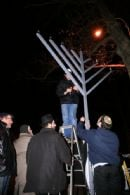 Menorah Lighting 5769 - 12/25/08