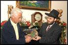 Florida Gov. Hosts Capitol Chanukah Party