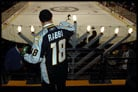 Hockey Fans Watch Lighting of Nashville Menorah