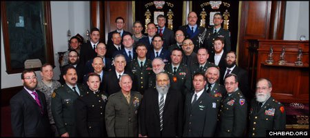 Participants in the recent Aleph Institute conference for Jewish chaplains represented a cross section of the U.S. military, with one presenter having attained the rank of four-star general.