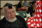 Octogenarian Celebrates His Bar Mitzvah at Purim Party