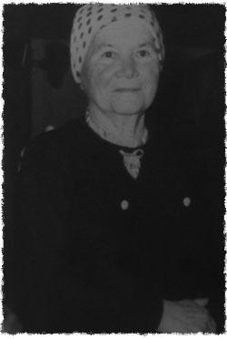 אמו של יאן, ציפורה קריצ'בסקי (רפרדוקציה: יוסי ודובסקי)