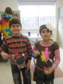 Hebrew School Purim Canvial