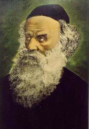 Rabbi Schneur Zalman of Liadi (1745-1812), founder of Chabad