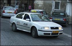 מונית בישראל. צילום: Krokodyl, ויקיפדיה