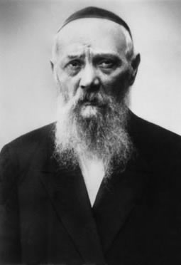 Rabbi Levi Yitzchak Schneerson, father of the Lubavitcher Rebbe, and chief rabbi of Dnipropetrovsk (Yekaterinoslav) from 1909–1939.