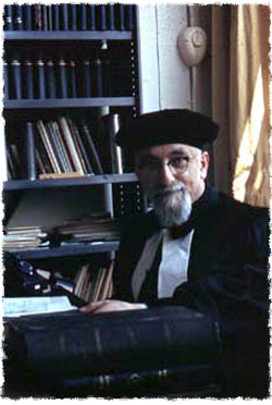 My grandfather Rabbi Levi Vorst, of blessed memory, the former Chief Rabbi of Rotterdam