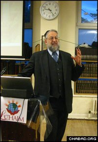 Lawrence H. Schiffman serves as chair of NYU's Skirball Department of Hebrew and Judaic Studies.