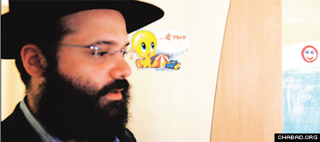 Rabbi Avraham Berkowitz, the director of the Chabad Mumbai Relief Fund says the total costs of repairs are yet unknown. (Photo: The Hindustan Times)