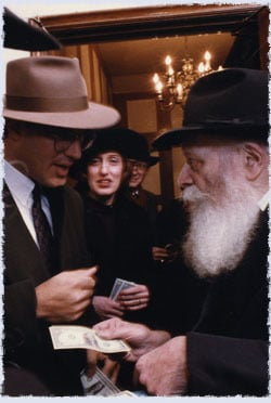 Everyone has their unique experience with the Rebbe that fostered their view on who the Rebbe was. Photo: Marc Asnin