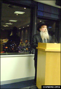 Rabbi Abraham Shemtov serves as chairman of the executive committee of Agudas Chassidei Chabad, the umbrella organization of Chabad-Lubavitch.