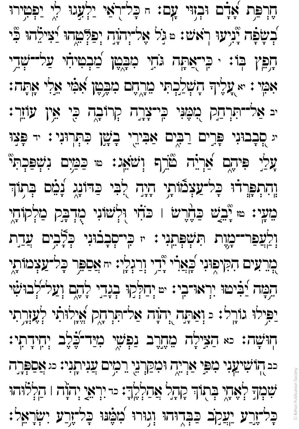 Chapter 22 - Prayer