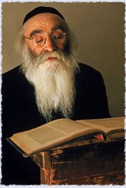 Rabbi Aryeh Levin in Jerusalem (Photo: Alfred Eisenstaedt/Life)